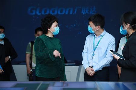 教育部副部长翁铁慧调研中关村软件园 点赞促就业行动